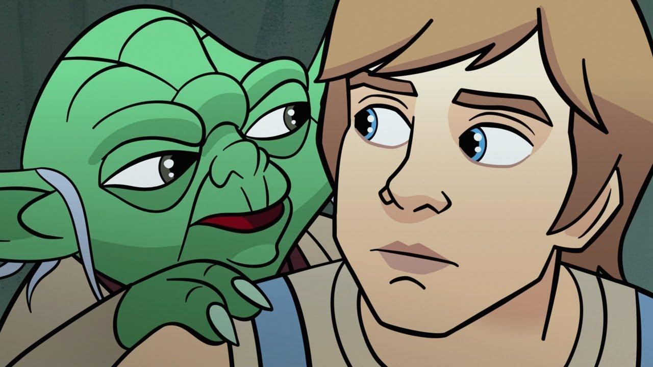 Cartoon Star Wars sex videa