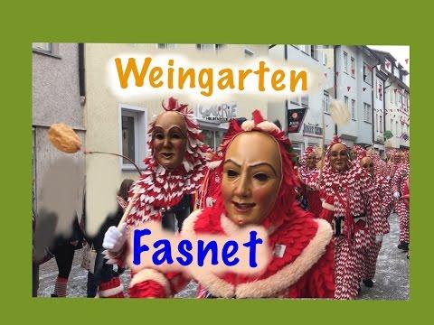 Weingarten Narrensprung 2017 ( Fasnet/Umzug/Baden Württemberg/Kreis Ravensburg)