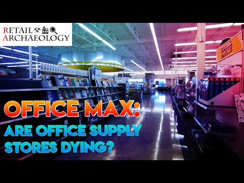 OfficeMax: Are Office Supply Stores Dying? | Retail Archaeology