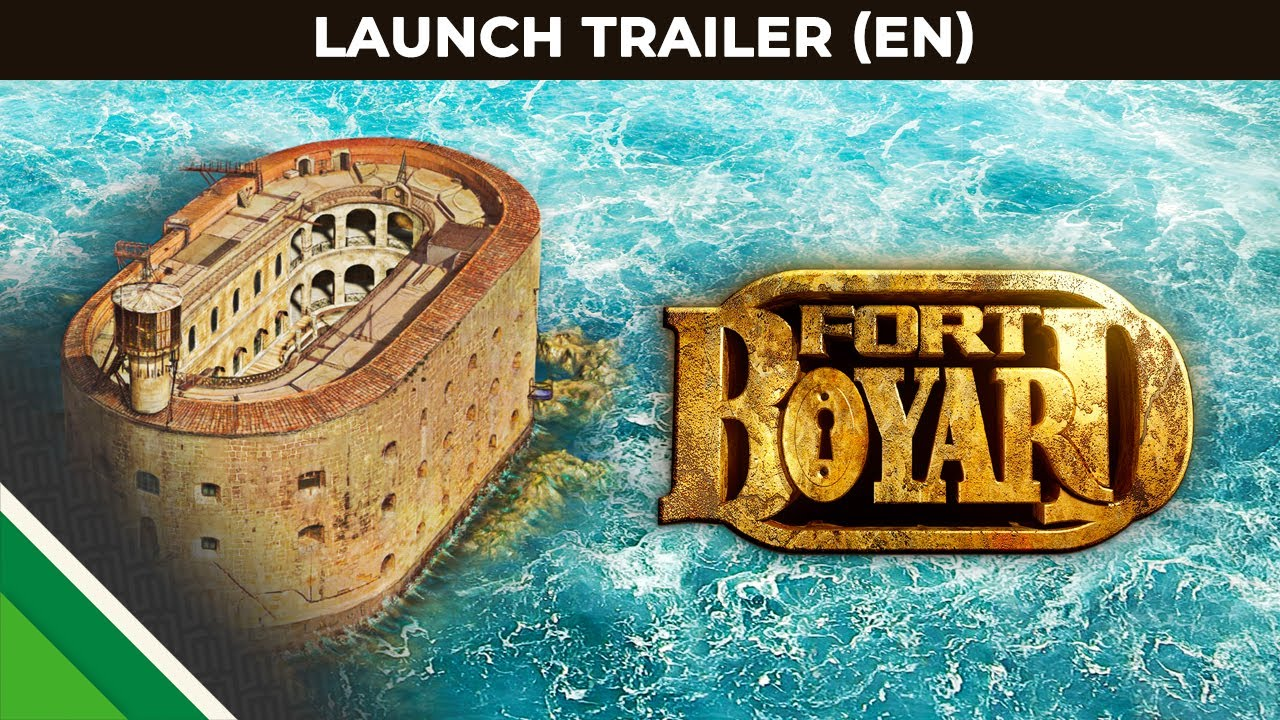 Fort Boyard | Launch Trailer UK | Microids & Appeal