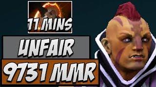 Dota 2 Gameplay - 11 minutes Battlefury Antimage by OG.Ana thumbnail