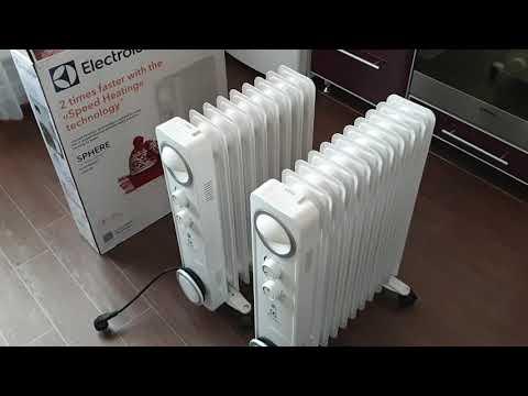 Масляный радиатор Electrolux EOH/M-6209 и EOH/M-6221 обзор