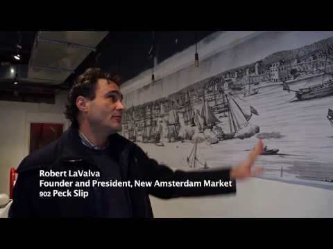 One year after Sandy -- South Street Seaport In Change