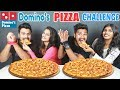 DOMINOS CHICKEN PIZZA CHALLENGE PARTNER Vs PARTNER EATING COMPETITION Food Challenge India Ep 116 mp3
