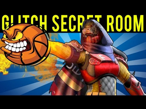 Destiny - KINGS FALL SOLO GLITCH INTO SECRET ROOM! (Oryx's Basketball Court)