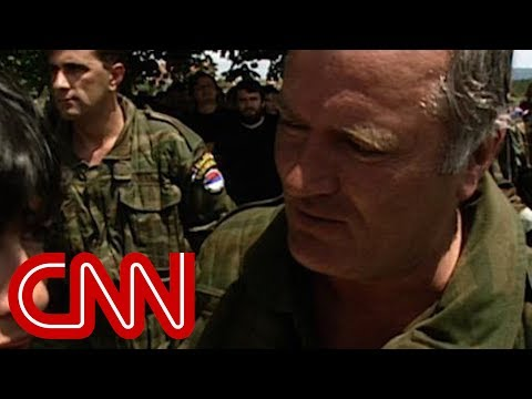 Christiane Amanpour meets Ratko Mladic - the 'Butcher of Bosnia'