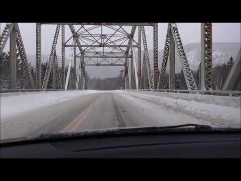 Trans Canada Highway In Winter - Episode #1 Ontario
