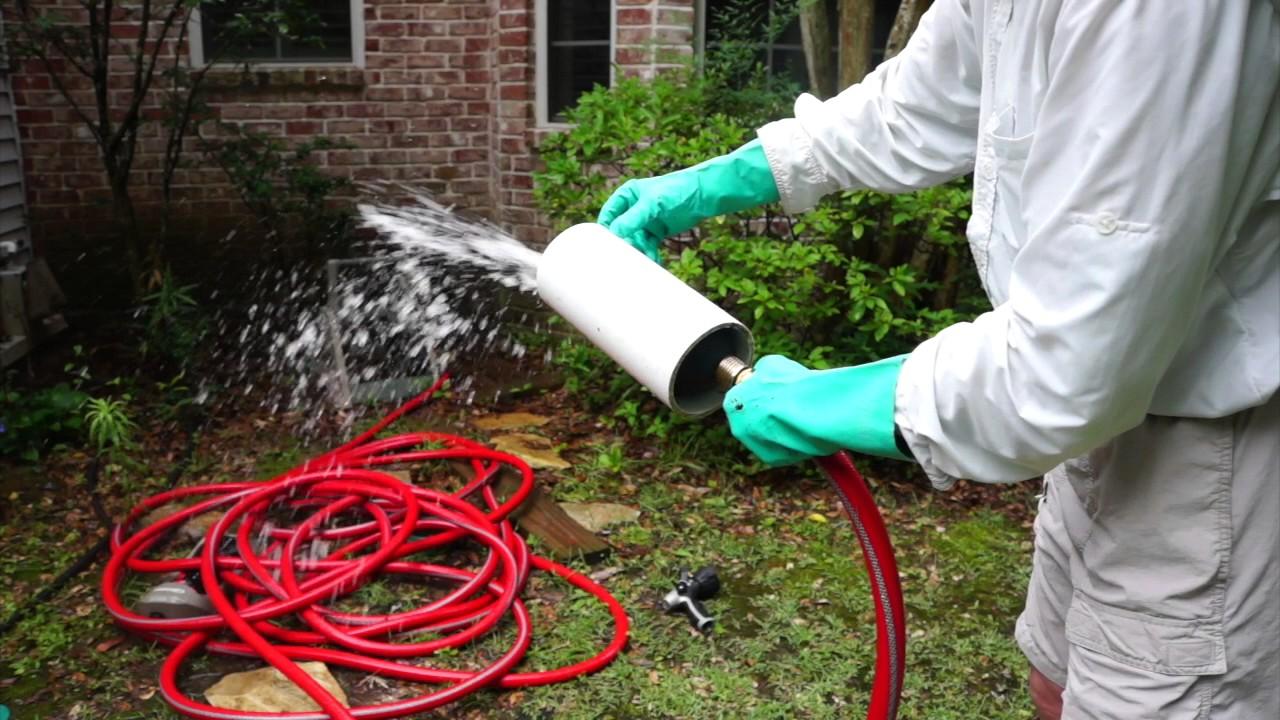 Water Bladder Drain Pipe Cleaner Demonstration - YouTube