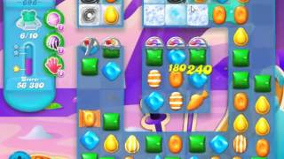 Candy Crush Soda Saga Level 696 - NO BOOSTERS