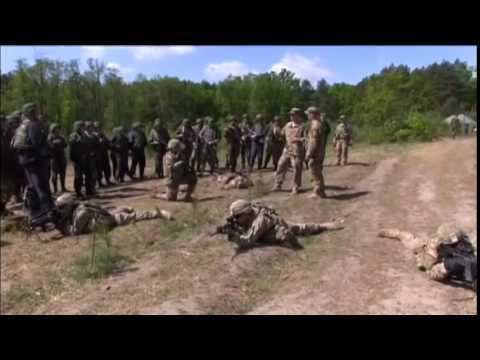 US Ukraine Army Training׃ US Army Europe chief sees progress in training Ukrainian soldiers