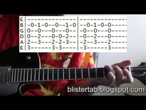 Violent Femmes Blister in the Sun chords tab guitar lessons online ...