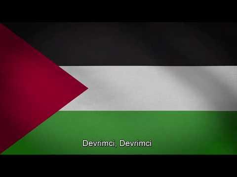 Filistin Milli Marşı- (Türkçe Altyazılı)- Palestine National Anthem- Fida'i