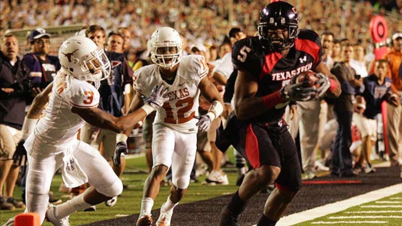 Image result for texas vs texas tech 2008