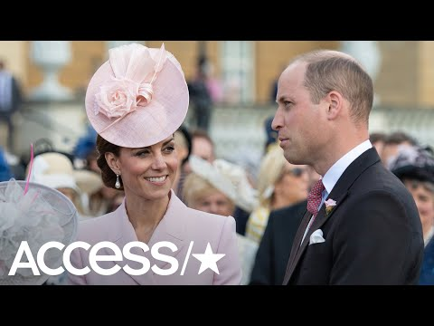 Kate Middleton Wows In Perfect Pink Dress At Buckingham Palace Garden Party | Access