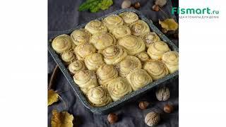 Покупки для кухни   Все для выпечки: обзор Форма для выпечки пирога Fissman 24 х 24 х 4.5 см 5594