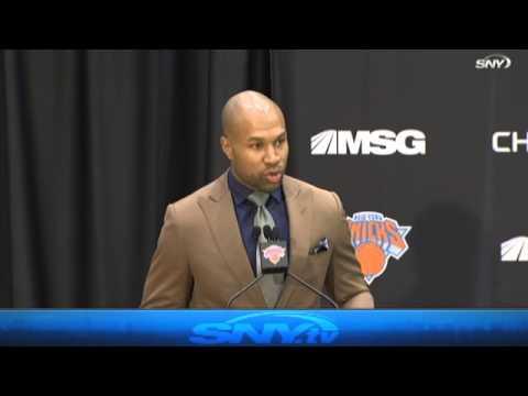 Phil Jackson names Derek Fisher Knicks coach