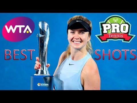 Elina Svitolina vs. Aliaksandra Sasnovich | WTA Brisbane Final 2018 Highlights HD