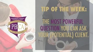 The Most Powerful Business Coaching Question You Can Ask