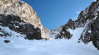 Marcel Gomez la grave la meije ski couloir 2016