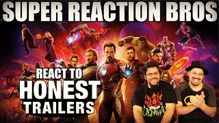 SRB Reacts to Honest Trailers - Avengers Infinity War