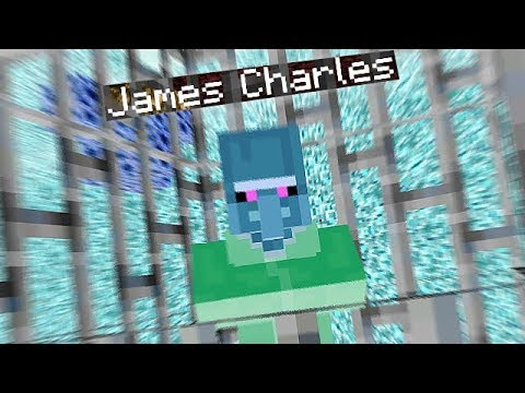 I Found James Charles In Minecraft Parkour thumbnail