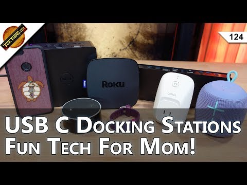 Easiest WiFi Boost Ever, USB Type C Dock: Dell TB16 vs Kensington SD4600P, Tech Gifts For Mom!