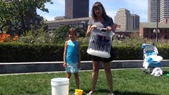 ALS Ice h20 Awareness Challenge 2014 -- S&S Rose F. Kennedy Greenway