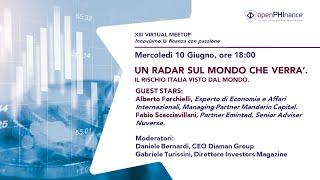 XIII Virtual Meetup - Alberto Forchielli e Fabio Scacciavillani