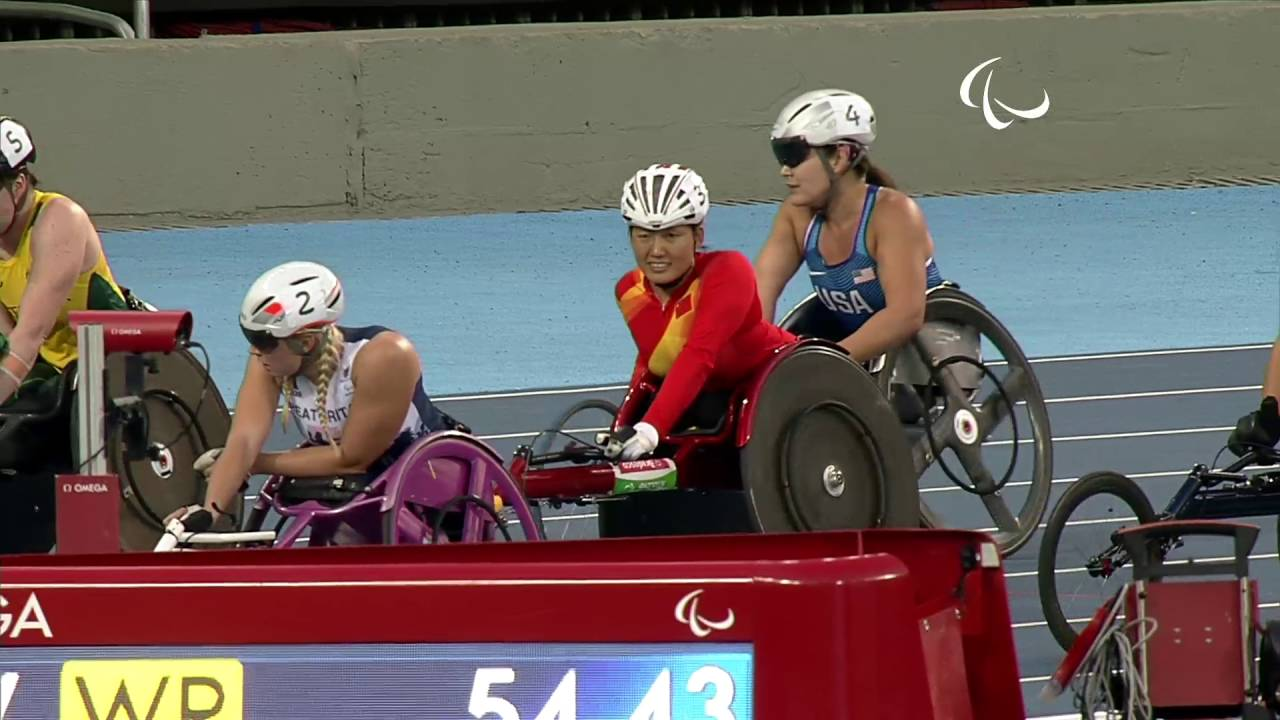 Download Athletics | Women's 400m - T53 Final | Rio 2016 Paralympic Games