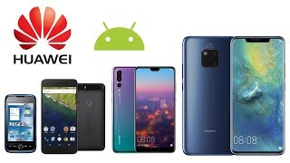 All Huawei Android Smartphones in 5 minutes