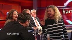 16.12.2019 - Verwirrte Frau stört Hart aber Fair Sendung - Anti-Feminismus / Bundesnachrichtendienst
