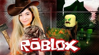 I OPENED UP THE GATE AND LET THE ZOMBIES IN! Uh Oh... | Walking Dead Roblox Roleplay