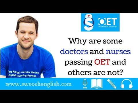 Why are some doctors and nurses passing OET and others are not?