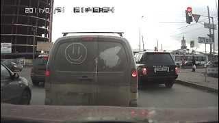 Красноярск, нарушение ПДД Range Rover с888вк124