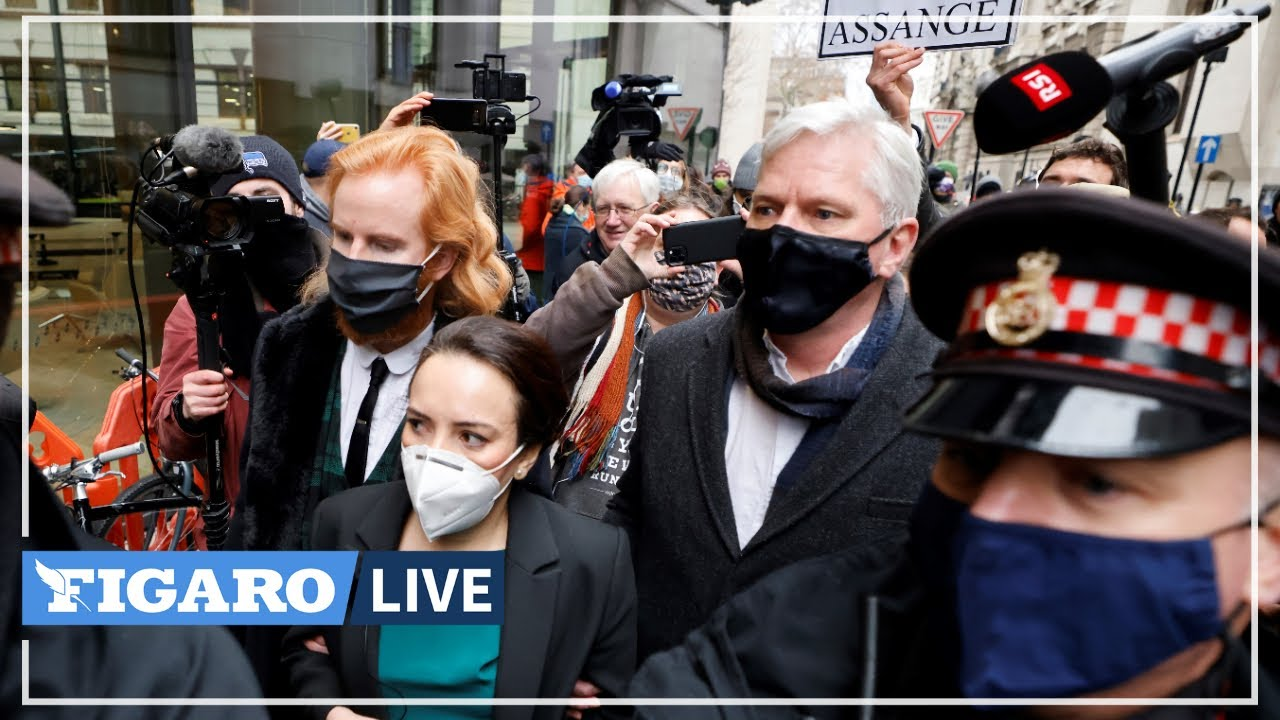 Download 🔴 La justice britannique refuse l'extradition de Julian Assange vers les États-Unis