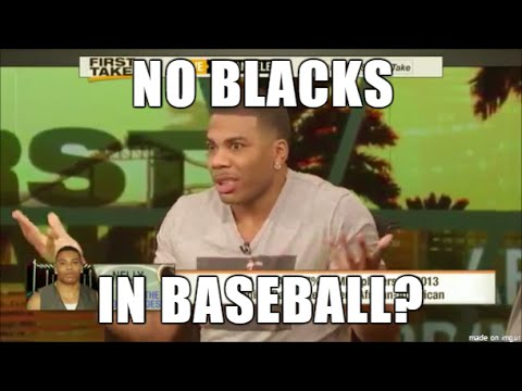 No Blacks in Baseball? Nelly discusses on First Take, St Louis Cardinals, MLB Stephen A Smith