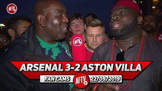 Arsenal 3-2 Aston Villa | Captain Aubameyang Won Us The Game (Kelechi)