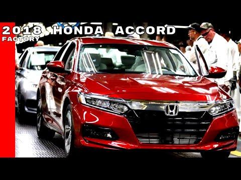 2018 Honda Accord Production Factory