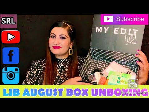 LATEST IN BEAUTY AUGUST BOX UNBOXING 🥰