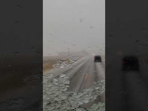 Snow zone @ stumborge,Nebraska,USA