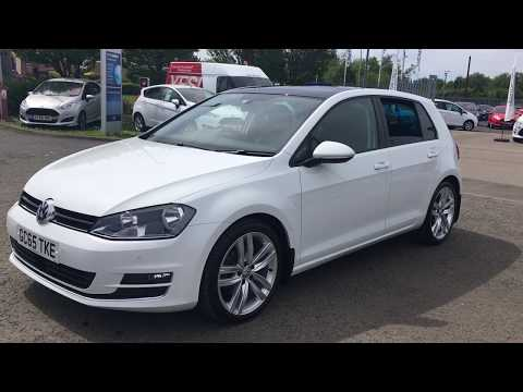 Used Volkswagen Golf 2.0 TDI GT Edition 5dr White 2016