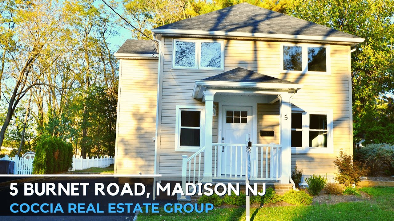 5 Burnet Road | Homes for Sale Madison NJ