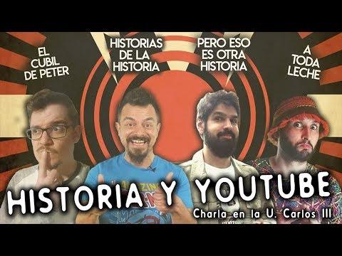 historia-y-youtube---charla-en-la-carlos-iii-con-el-cubil-de-peter,-lechero-fett-y-j.-j.-priego