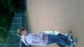 Zoe Blything And Her 21 Week Old Boxer X Dalmation Obidence Training.mp4