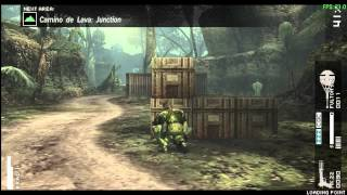 Metal Gear Solid Peace Walker PPSSPP 0.9.1 PC