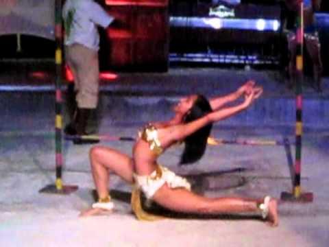Limbo dancer (real low)