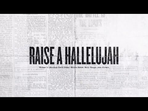 Raise A Hallelujah (Offical Lyric Video) - Bethel Music | VICTORY