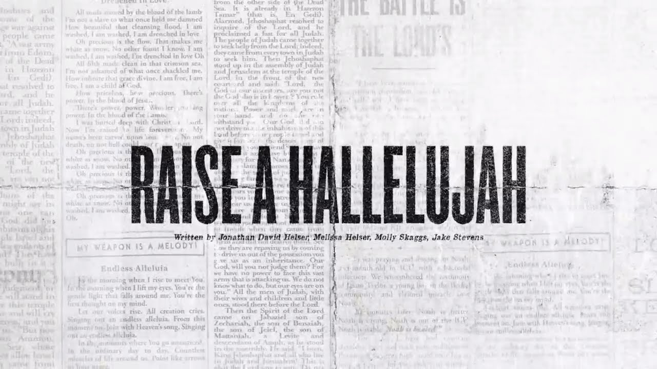 Raise A Hallelujah (Offical Lyric Video) - Bethel Music   VICTORY