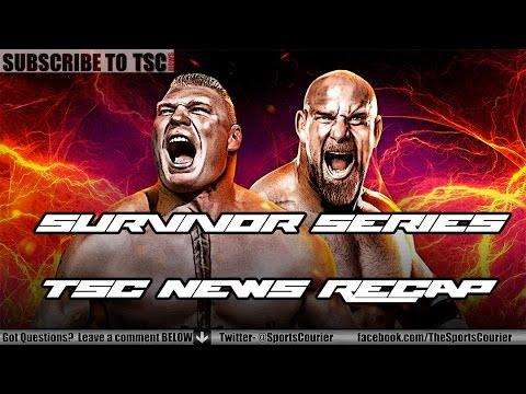 WWE Survivor Series 2016 Recap: Goldberg vs. Brock Lesnar