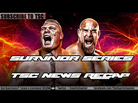 WWE Survivor Series 2016 Recap: Goldberg vs. Brock Lesnar